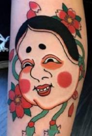17组日本风格的日式传统小图纹身图片