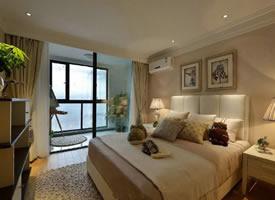 116㎡现代简约小美式美式风格家居装修设计案例