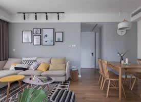 原木&白色美美的家装修效果图欣赏