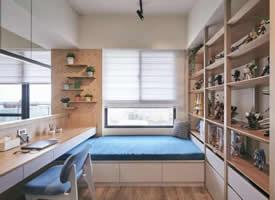 66m²现代原木风装修效果图,清新舒适