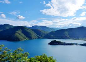 一组清新美丽的泸沽湖自然风景图片