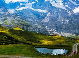 一组雄伟大气的瑞士少女峰图片欣赏