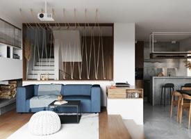 意大利米兰112㎡三室空间设计装修效果图
