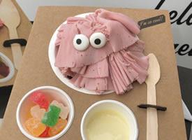敲可爱的 Eyescream and Friends 怪物家庭冰淇淋 ,萌萌滴