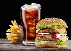 一组香喷喷的美味汉堡图片欣赏