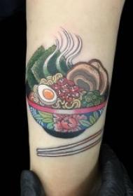 食物纹身  美味而又精致的食物纹身图案
