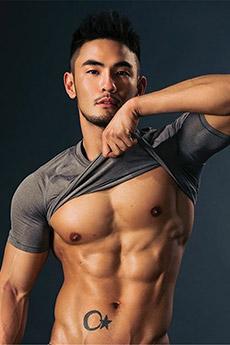 视觉盛宴性感诱人肌肉帅哥大胆艺术摄影写真照片欣赏