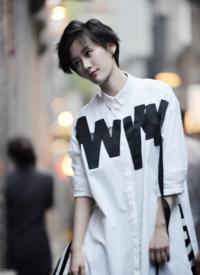 徐悦时尚街拍图片欣赏