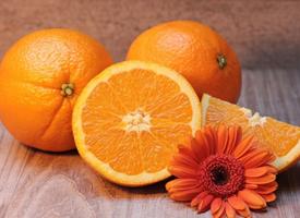 香甜含丰富维C的橙子图片欣赏