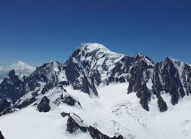 一组威武的雪山高清图片欣赏