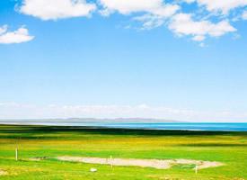 青海湖唯美春天风景图片桌面壁纸