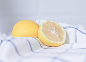 简约小清静物唯美柠檬图片欣赏