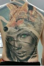 狐狸纹身图   10款伶俐而又狡猾的狐狸纹身图案