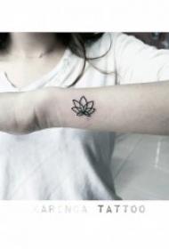 纹身简约小图案  10款迷你而又简洁的小图案纹身