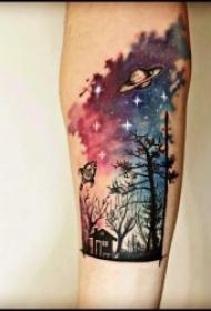 纹身树木的图像  生机勃勃的树木纹身图案