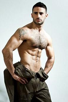 欧美腹部毛男性感的帅哥13张图片