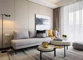 89平现代三居室装修效果图欣赏