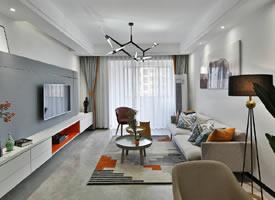 75㎡现代风格家居 甜蜜温馨的感觉充满了整个房间