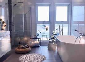 干净整洁的浴室装饰风格图片欣赏