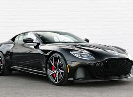 一组黑色帅气Aston Martin DBS Superleggera