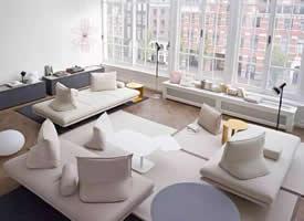 一组超有感觉的完美搭配客厅装修效