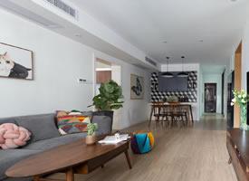 138平现代北欧风三居室,简约温馨舒适