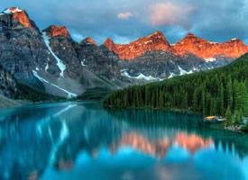 一组美丽的湖泊倒影景色图片欣赏
