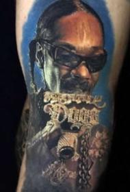 立体写实纹身 欧美的9款彩色超逼真写实纹身图案