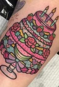 食物纹身  多款创意而又可爱的食物纹身图案