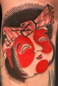 日式纹身图 红色调传统风格的的9张日式纹身图片