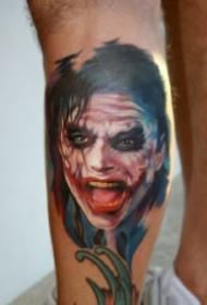 纹身肖像图 欧美写实风格的肖像人物图片