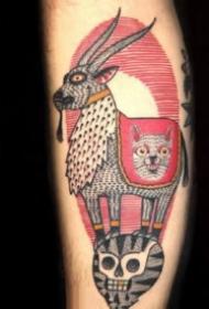 纹身另类图 另类个性风格的school创意图片