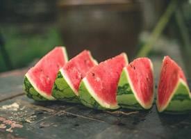 一组夏天最解渴的水果西瓜图片欣赏