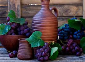 一组超级新鲜的葡萄图片欣赏