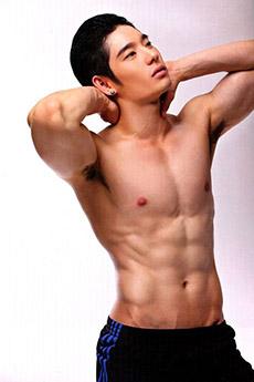 泰国帅哥肌肉图片