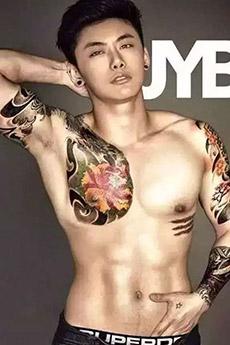 高颜值泰国帅哥肌肉图片欣赏
