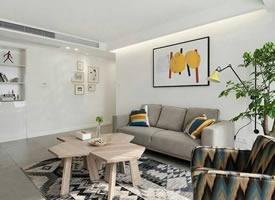 135平现代住宅 低调的色彩,洁净的环境
