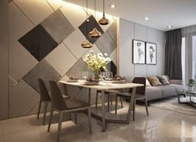 现代北欧风格一居室装修效果图欣赏