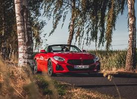 一组红色帅气的BMW Z4 M40i 图片欣赏
