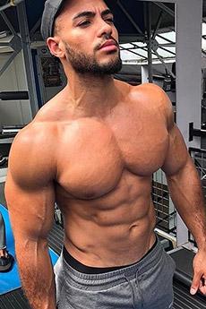 性感欧美型男Justin St Paul肌肉写真照片