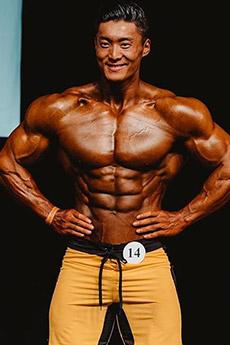 肌肉型男吴龙的肌肉写真大片