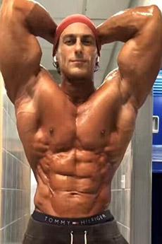 性感欧美肌肉猛男照片
