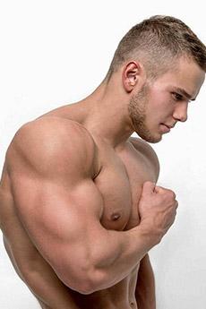 欧美型男肌肉性感写真照片