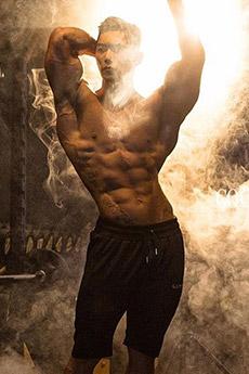 亚洲健美先生肌肉艺术摄影写真
