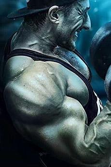 欧美健身房大型肌肉猛男照片