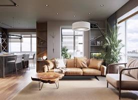 一组精致的公寓装修效果图欣赏