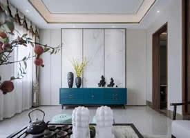 雅奢东方,大美之美的新中式装修图