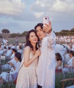 戚薇李承铉甜蜜浪漫音乐节图片