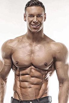干练型肌肉男Anton Antipov性感写真照片