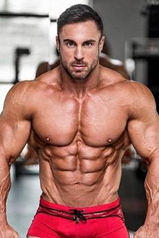 欧美精悍型肌肉男帅哥照片